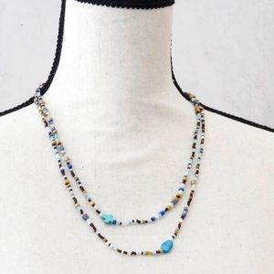 Jewelry - OOAK Layered Vintage Beaded Necklace